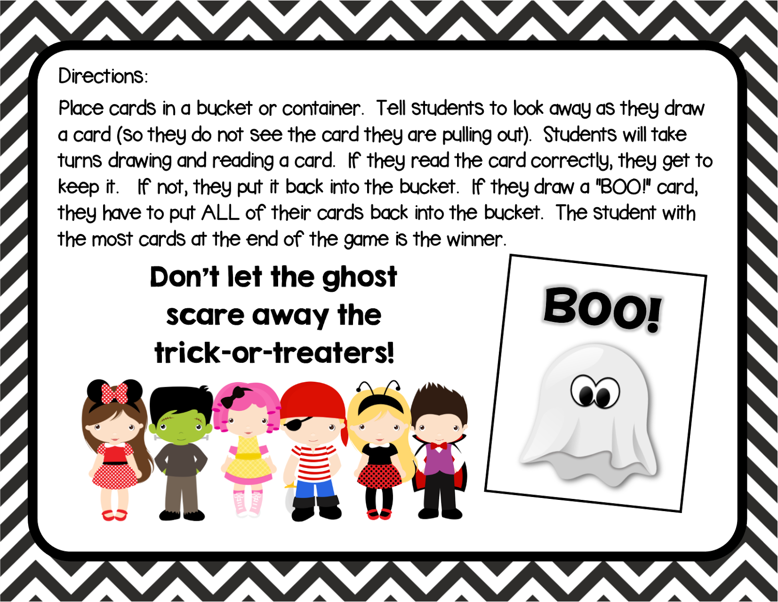 Sight Word Halloween Worksheet