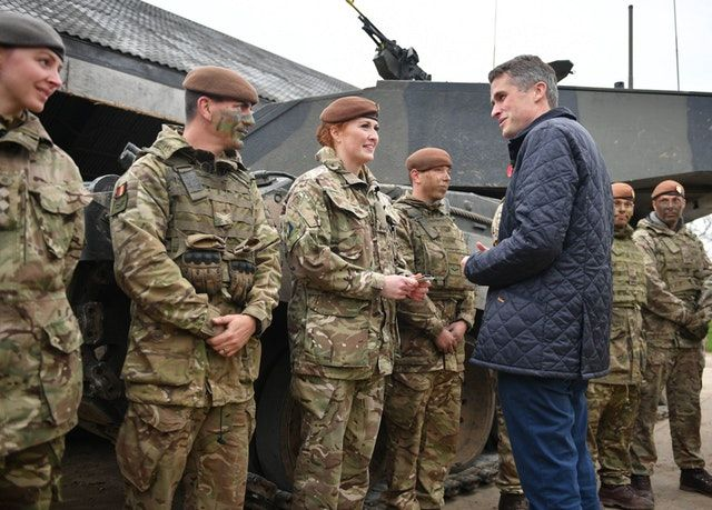 Image Attribute: On a visit to Salisbury Plain on 25 October, during which he announced that all roles in the UK military would be open to women, UK Defence Secretary Gavin Williamson talks to Lance Corporal Kat Dixon, who serves with the Royal Wessex Yeomanry and is the first female tank gunner in her regiment, having joined the army reserves two-and-a-half years ago. (Crown Copyright)