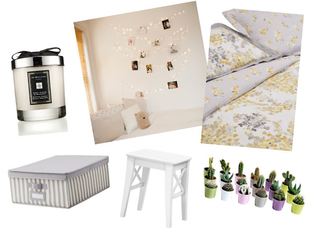blog blogger bblogger lblogger beauty lifestyle youtube youtuber kirstie pickering wishlist jo alone sweet almond & macaroon candle fairy lights next bed set ikea storage stool cactus cacti pinterest inspo bedroom collage instagram gh0stparties twitter moving homeware