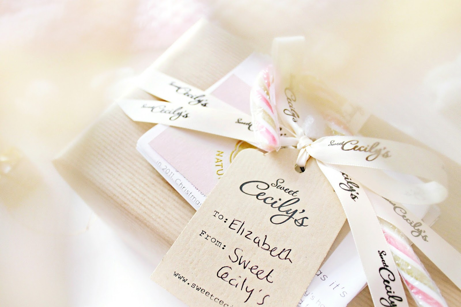 Sweet Cecily's Secret Santa package review
