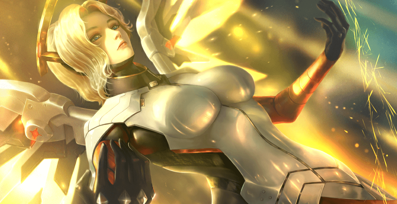 1920x1080 | Overwatch / Mercy (60 FPS) [Wallpaper Engine Free]