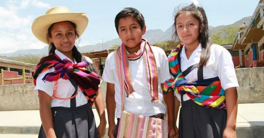 FENCYT: Escolares de Salas - Lambayeque, mostrarán la belleza de sus tejidos tradicionales en final de Feria Nacional de Ciencia y Tecnología