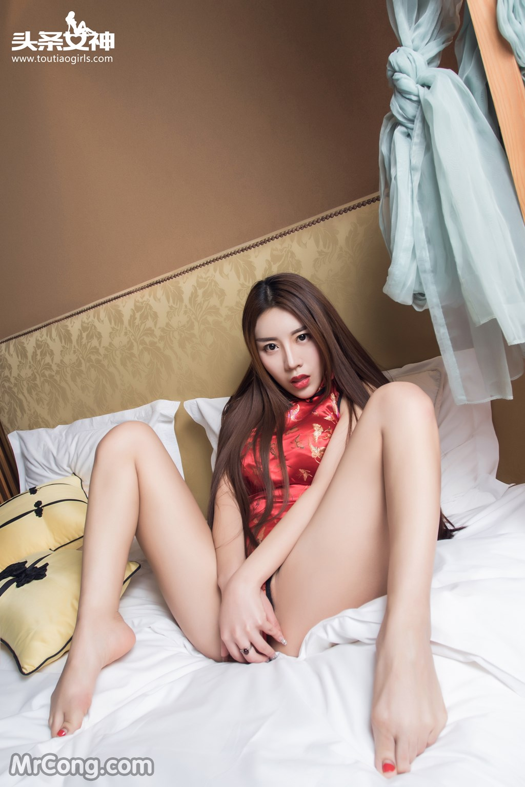 Image MrCong.com-TouTiao-2016-12-13-An-Su-Rui-010 in post TouTiao 2016-12-13: Người mẫu An Su Rui (安苏芮) (18 ảnh)