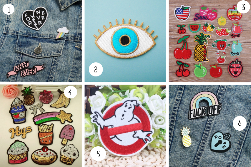 patch collant sélection shopping