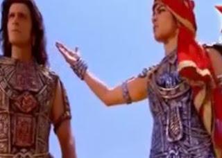 Sinopsis Mahabharata Episode 160 - Pertemuan Sebelum Perang Bharatayudha