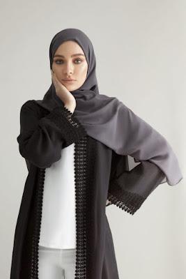 jilbab syar'i crepe jilbab segiempat crepe
