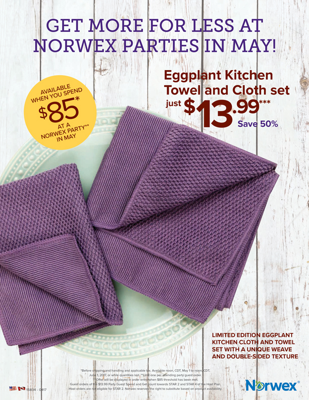 rebecca lange - norwex independent sales consultant: may 2017