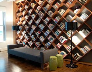 white shelves 30 of the Most Creative Bookshelves Designs