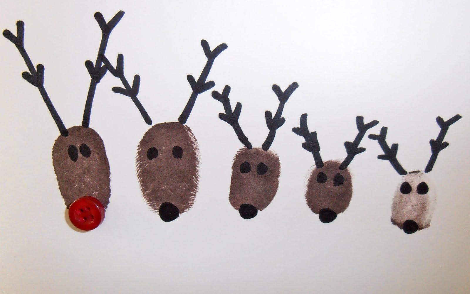 Reindeer Christmas Cards Ideas.Giggleberry Creations Reindeer Family Christmas Cards