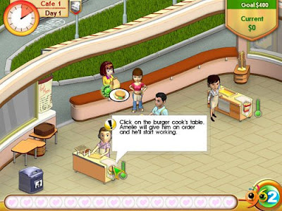 艾蜜莉咖啡館(Amelie's Cafe),可愛的咖啡館模擬經營遊戲!