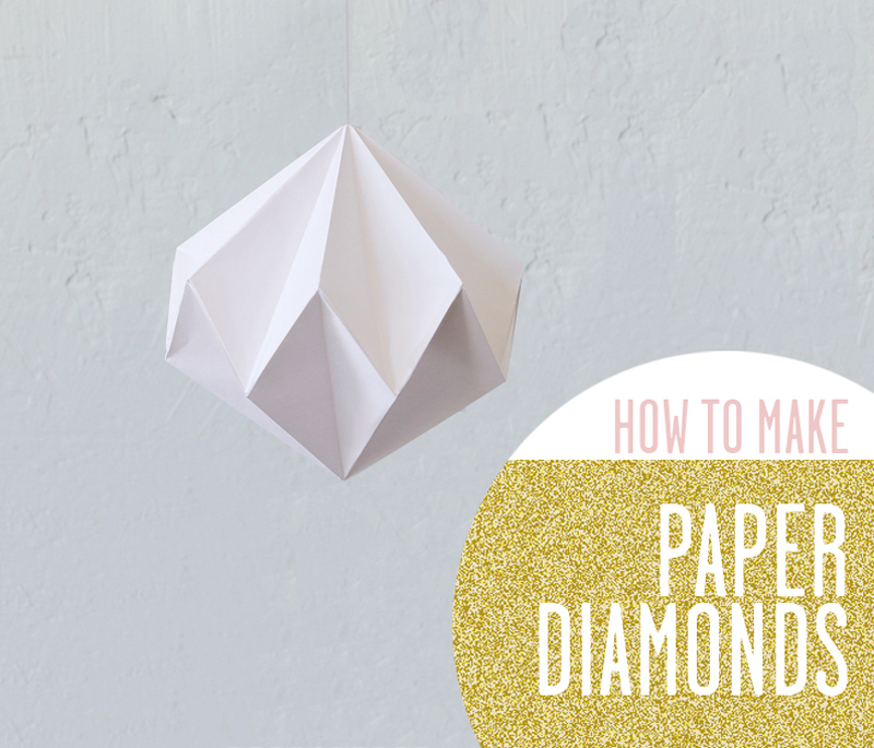 Annmeer By Anna Maria Dahmen Diy Paper Diamond