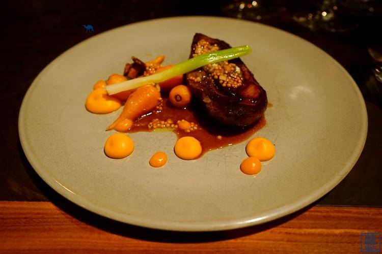 Le Chameau Bleu - Volta canard sauvage - carotte jeune et oignon