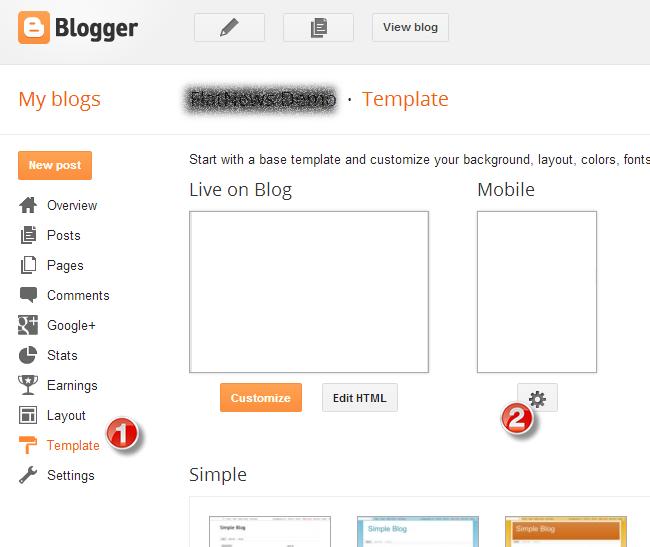 Flatnews Blogger Template Documentation