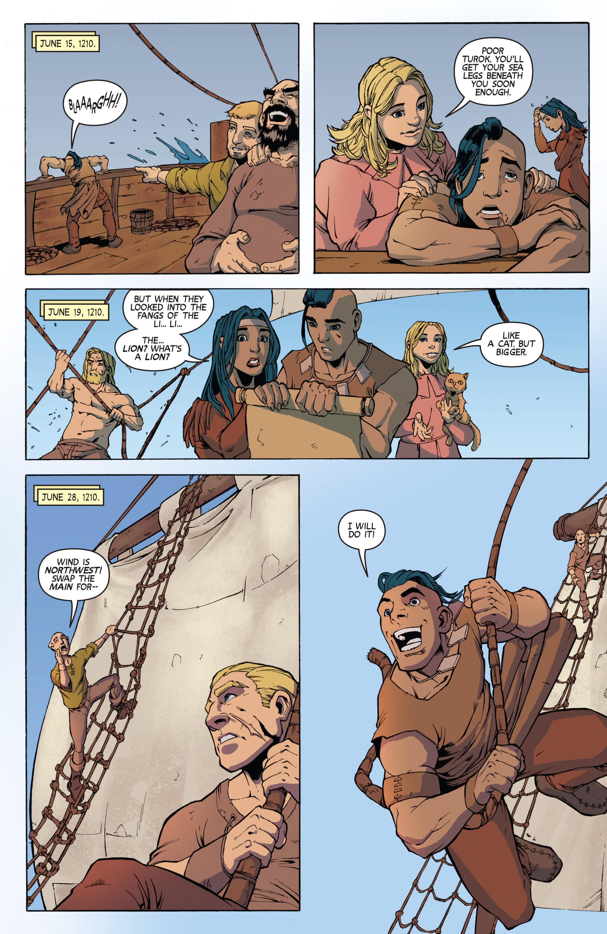 Read online Turok: Dinosaur Hunter (2014) comic -  Issue # _TPB 3 - 18
