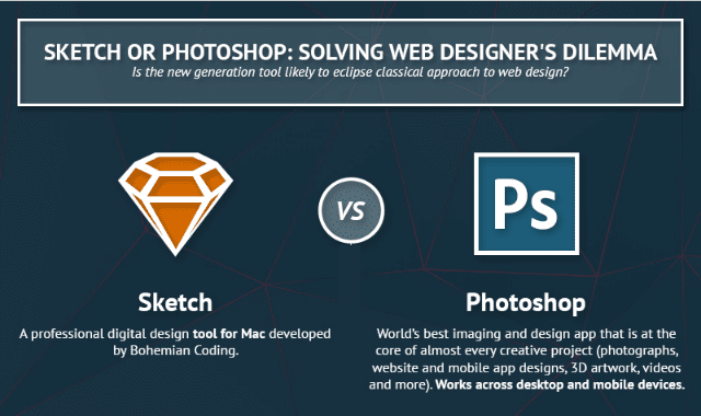 Sketch or Photoshop: Solving Web Designer's Dilemma
