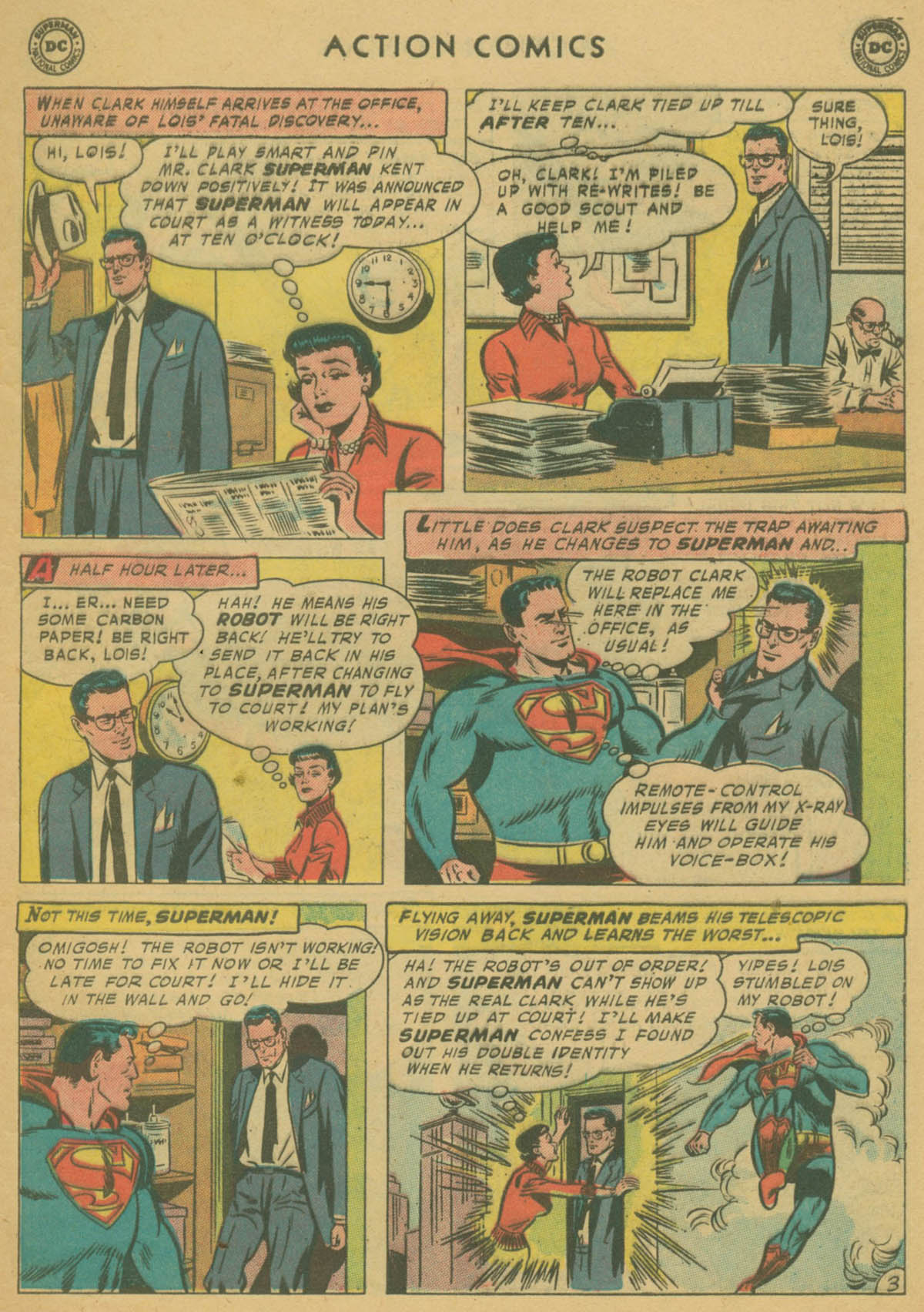 Action Comics (1938) 240 Page 4