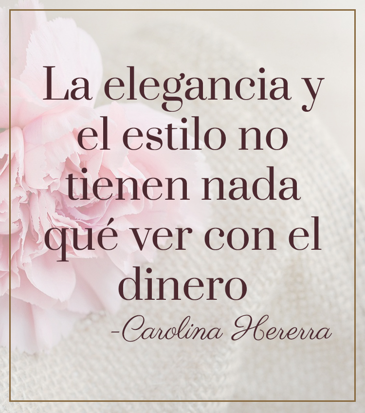 Carolina Herrera elegancia estilo dinero fashionista blog mamá Meyrilu