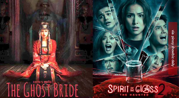 Battle of Undas 2017 Movies: The Ghost Bride vs Spirit of the Glass 2