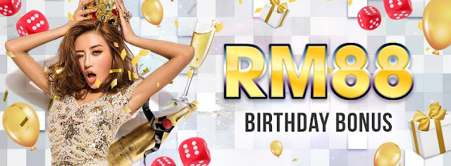 Free RM88 Birthday Bonus