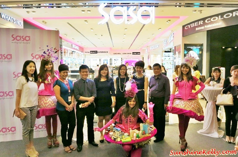 Sa Sa First Lifestyle Concept Store, Sunway Pyramid, CyberColor, Artdeco, Sa Sa Sunway Pyramid Grand Launch, Sa Sa Malaysia, Beauty Lifestyle Concept Store, Sa Sa Sunway Pyramid, Autumn Make Up Trends Colours 2014