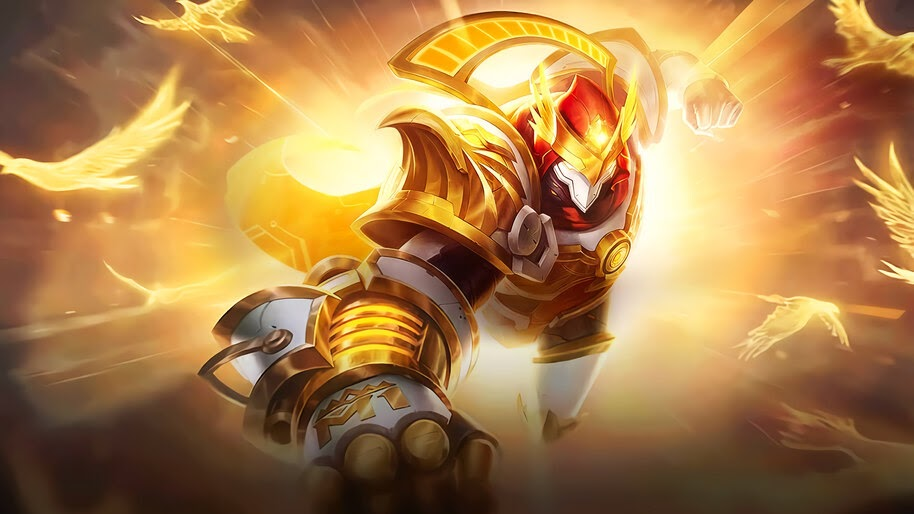 Aldous King of Supremacy Skin Mobile Legends 4K Wallpaper #3.1225