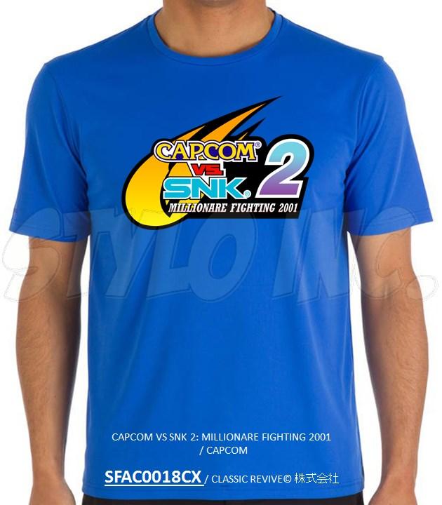 SFAC0018CX CAPCOM VS SNK 2: MILLIONARE FIGHTING 2001