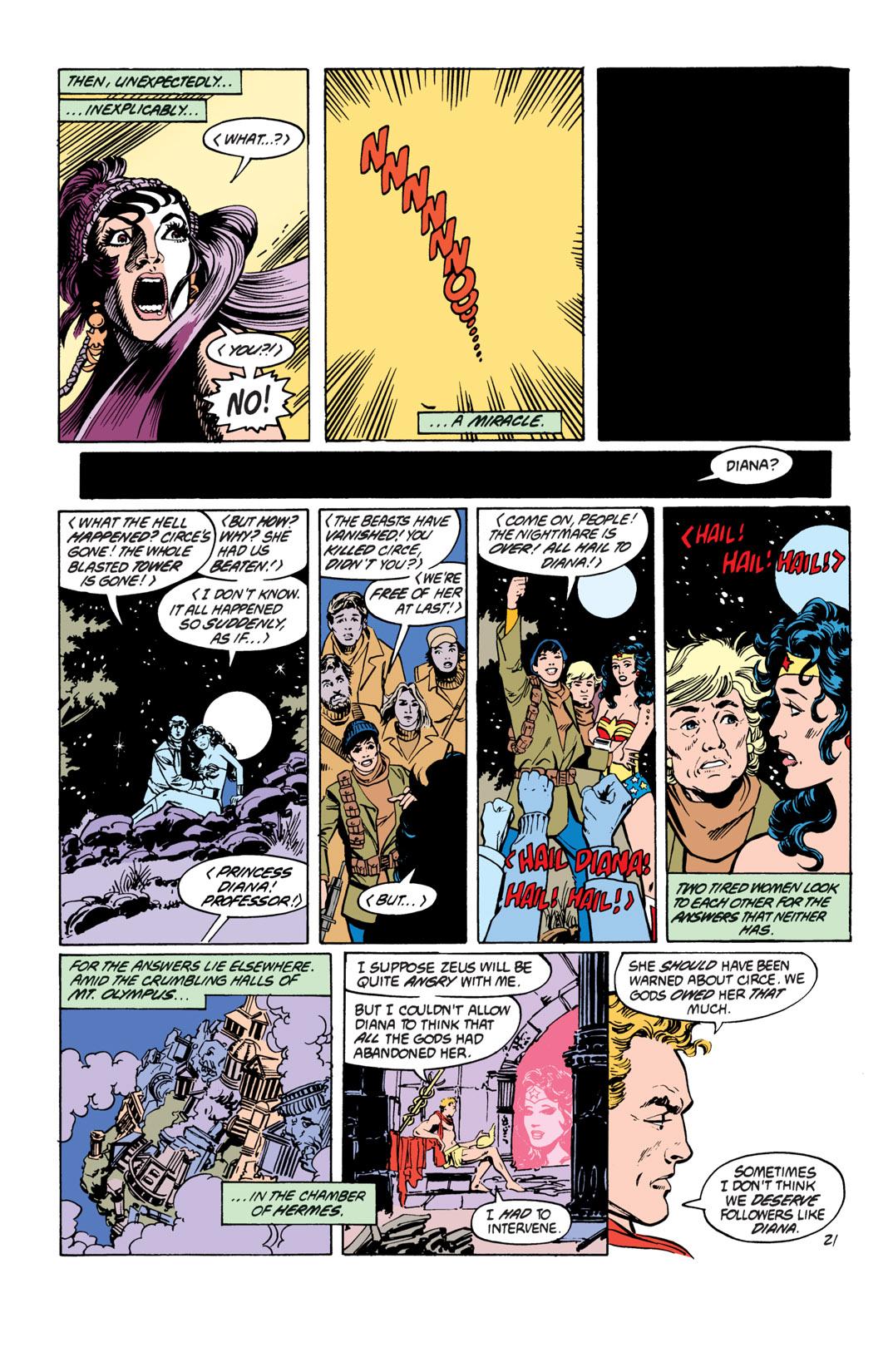 Read online Wonder Woman (1987) comic -  Issue #19 - 22