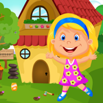 G4K Cute Pretty Girl Rescue Game