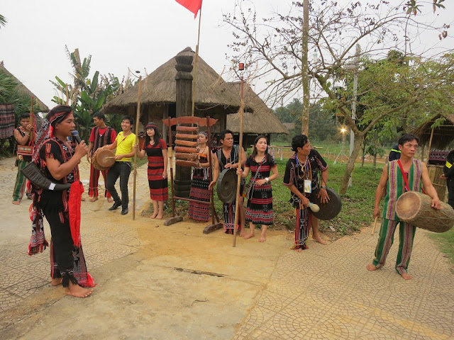 Activities welcoming New Year at Viet Nam National Villages for Ethnic Culture and Tourism 1