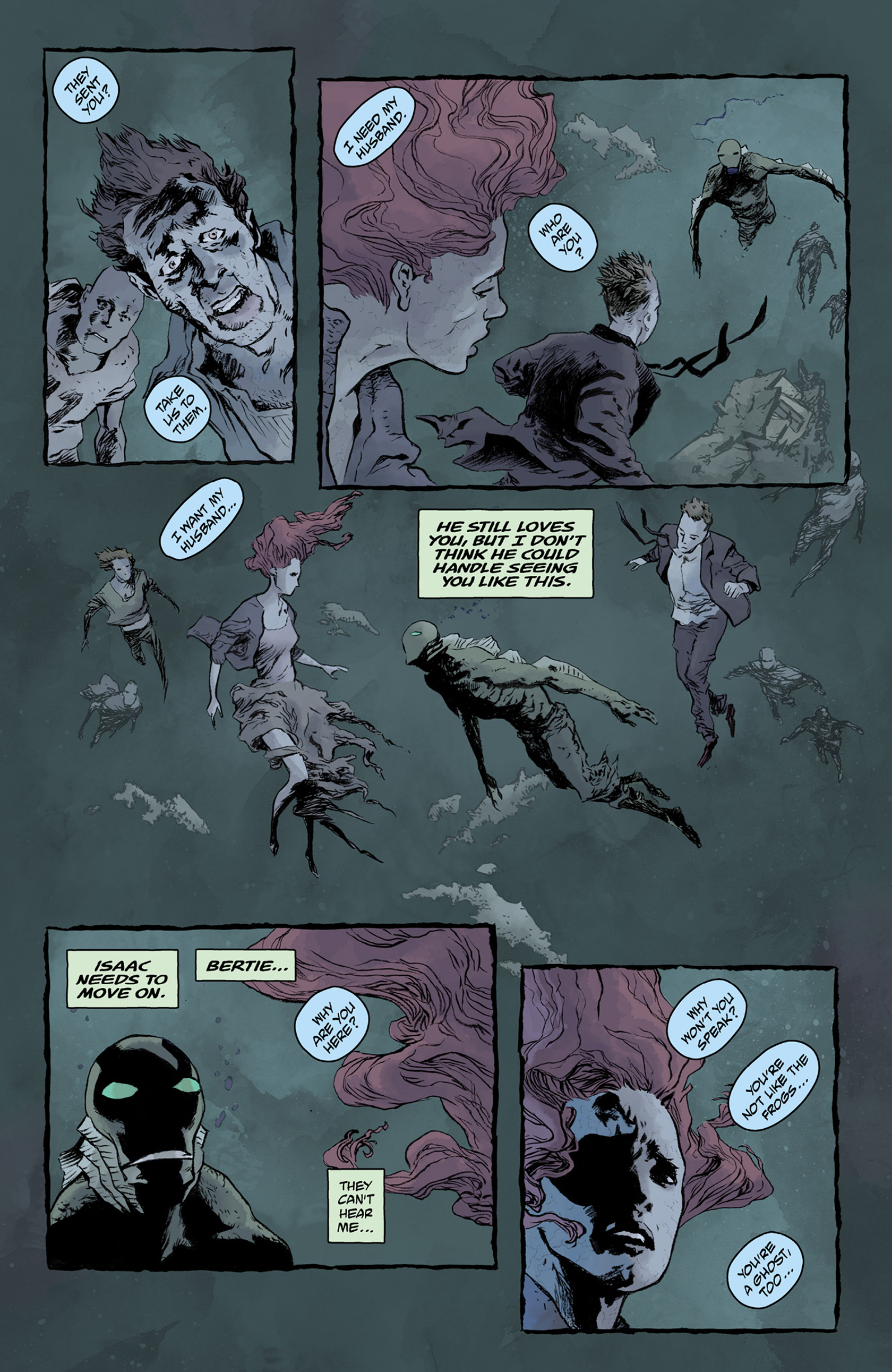 Read online Abe Sapien comic -  Issue #25 - 21