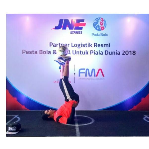JNE Partner Logistik Resmi Piala Dunia 2018