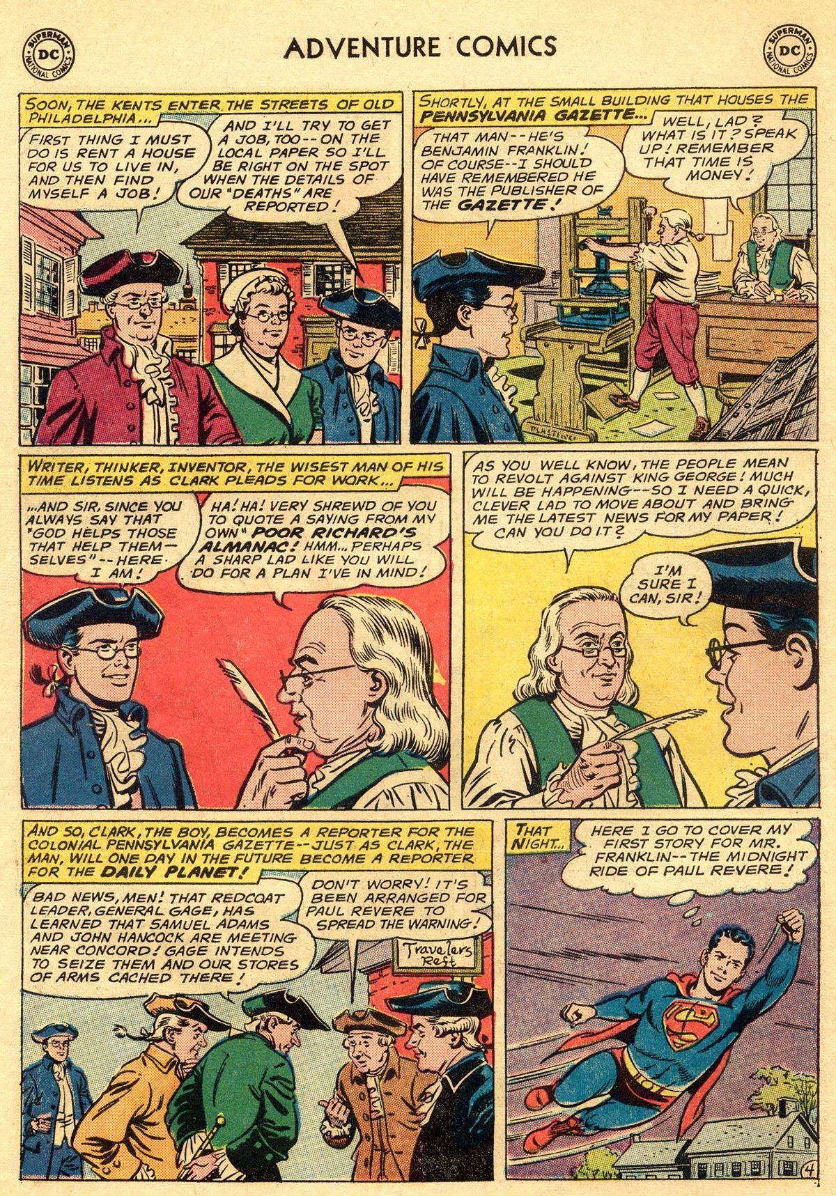 Read online Adventure Comics (1938) comic -  Issue #296 - 6