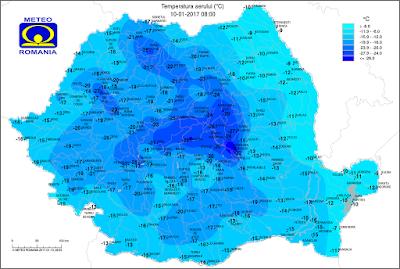 Erdély, extrém hideg, Székelyföld, Bodzaforduló, hidegpólus, kis Szibéria