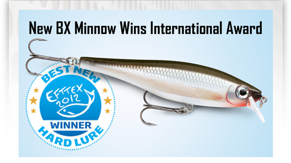 International Fishing News: RAPALA Balsa Extreme win Efftex prize