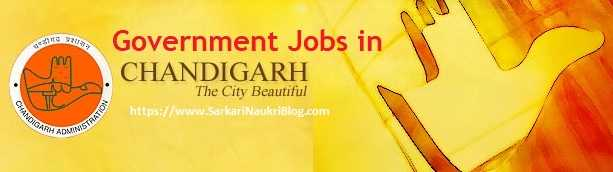 Government jobs in Chandigarh