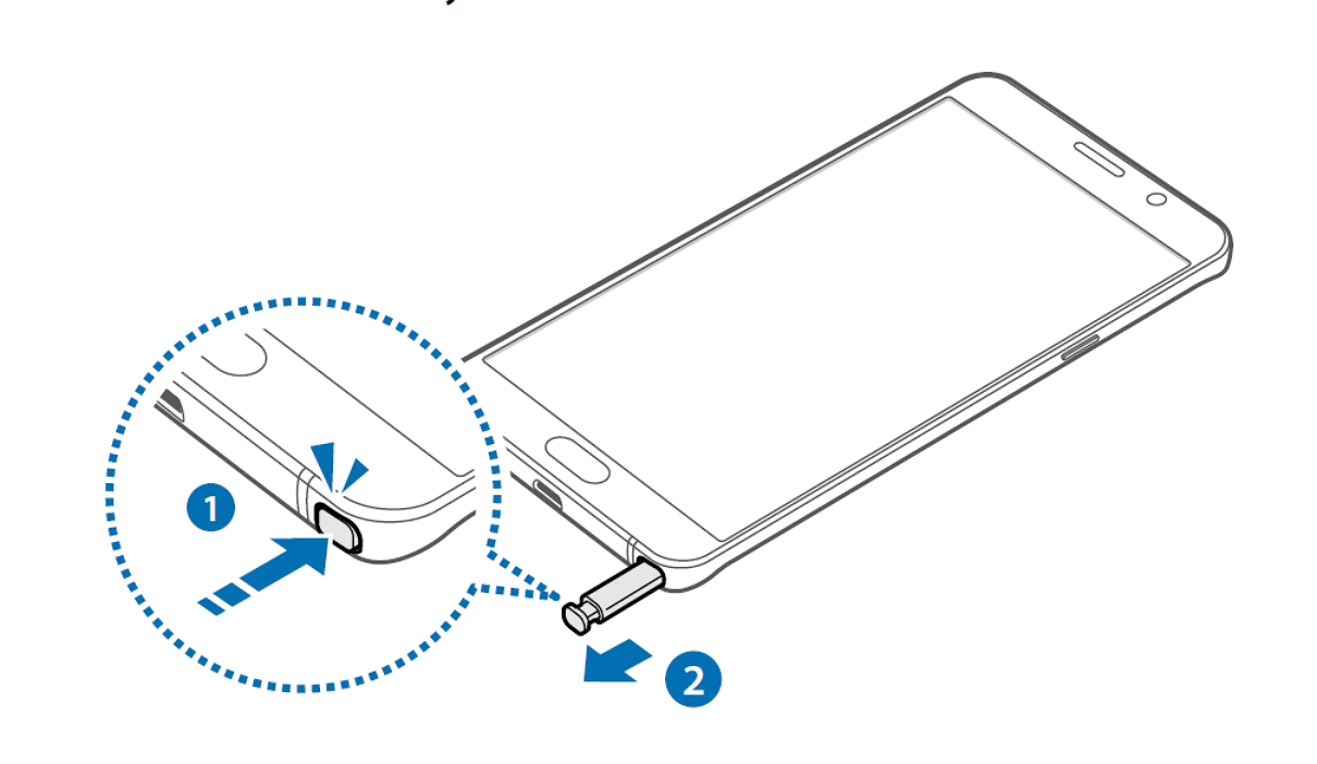 Manual and Tutorial How to Detaching the S Pen on Galaxy