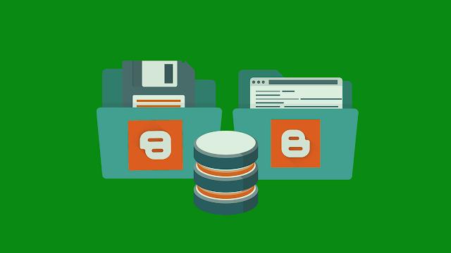 Cara Backup Postingan dengan Utuh di Blogspot