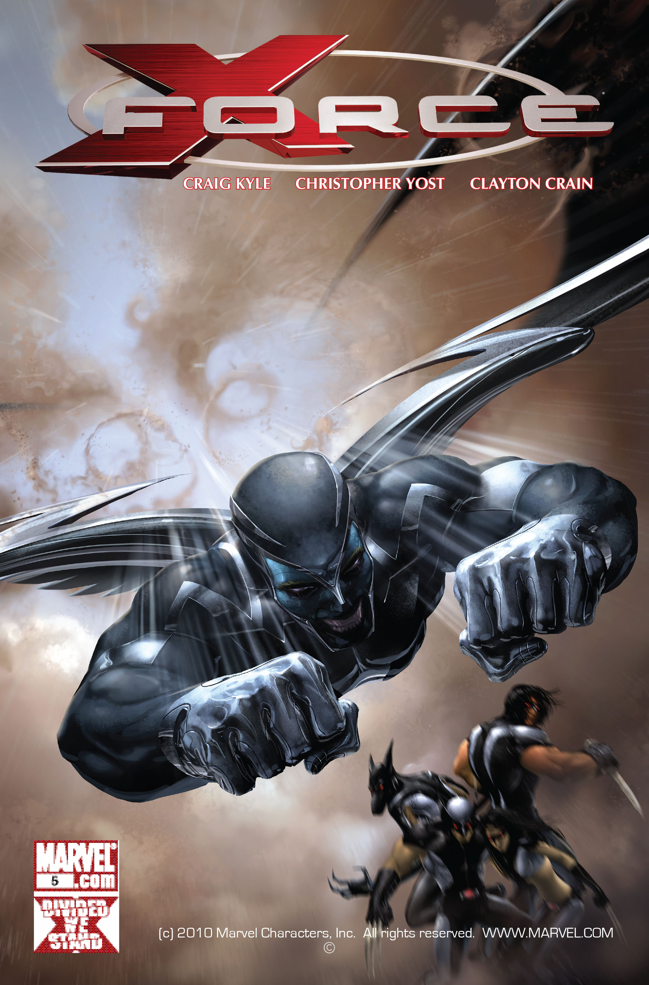 Read online X-Force (2008) comic -  Issue #5 - 1