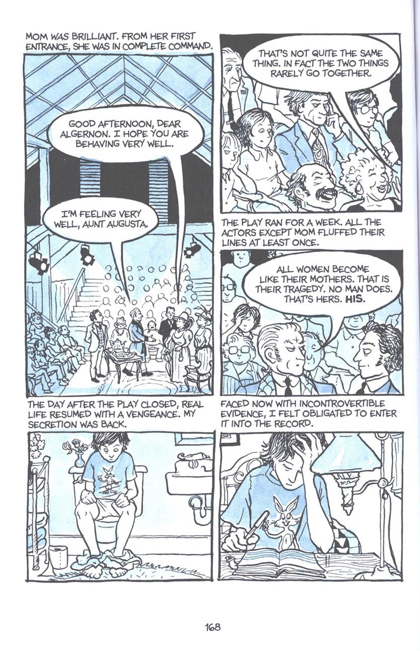 Read online Fun Home: A Family Tragicomic comic -  Issue # TPB - 174