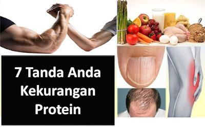 7 Tanda Tubuh Anda Kekurangan Protein