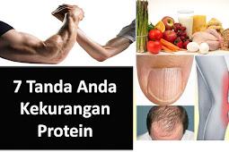 7 Tanda Tubuh Anda Kekurangan Protein - Info Sehat