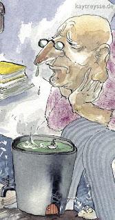 WARTEZIMMER beim HNO Arzt - Wimmelbild Detail