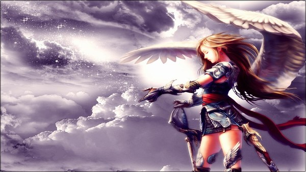 Anime Angel Images HD Wallpaper Download