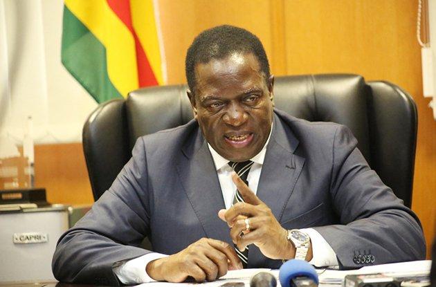 Mnangagwa Says Will Make Public Zim Post-Election Violence Report