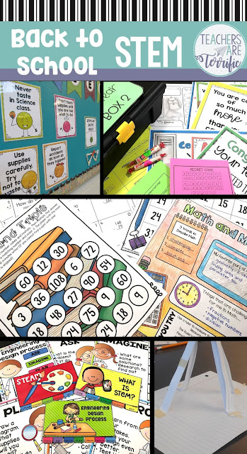 It's Back to School time and we all can use some fabulous tips to ease into the year! This post coves teamwork and includes some activities. Teaching your classroom rules can be so much fun using the Rules challenge.  And, suggestions for easy challenges and a Back to School Escape Room are included! #STEM #Escaperoom #backtoschool