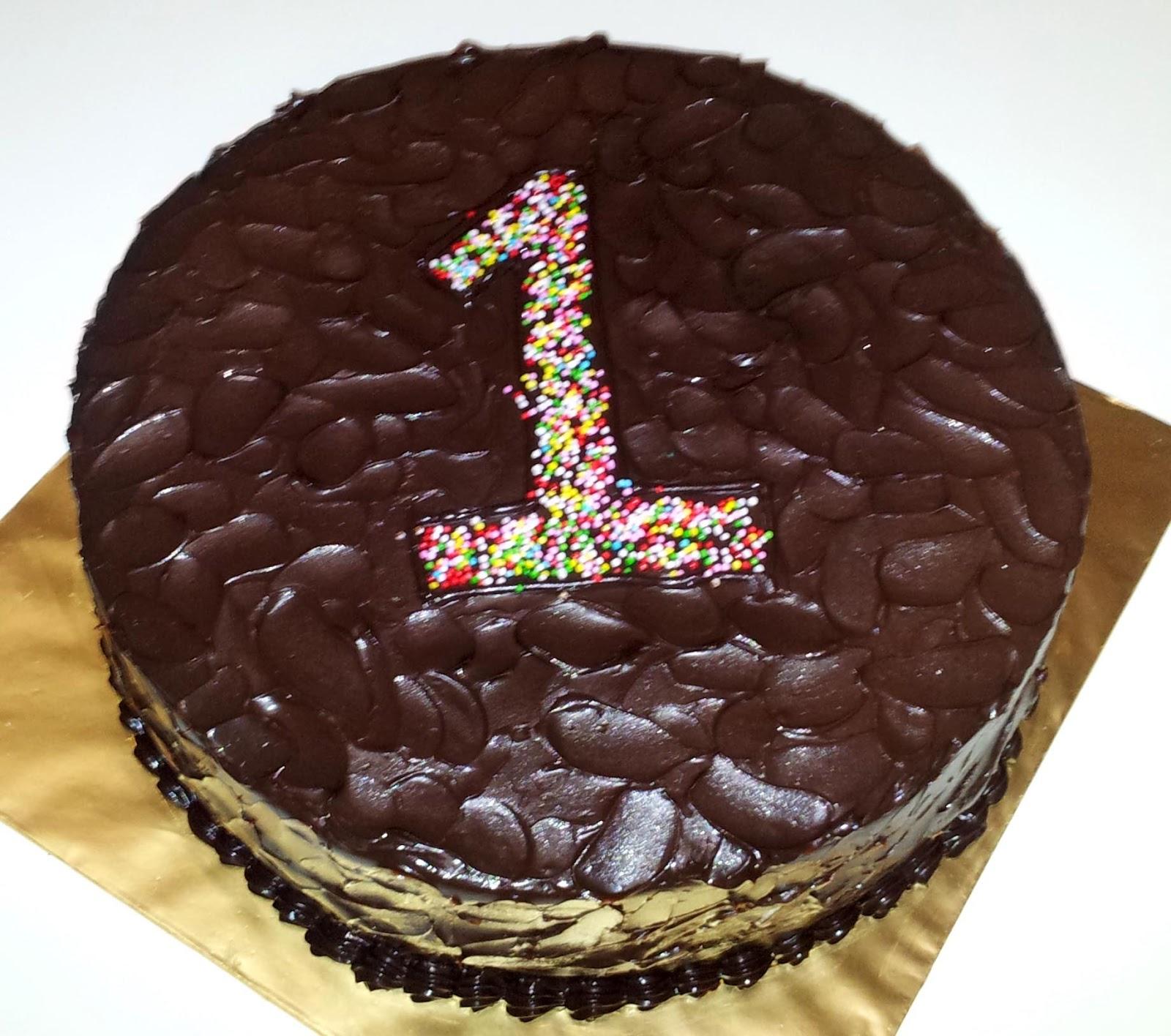 Made By Shas: Nuha's Chocolate Birthday Cake