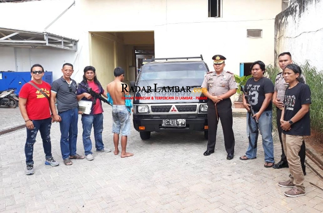 Tekab 308 Berhasil Ungkap Pencuri Mobil L300