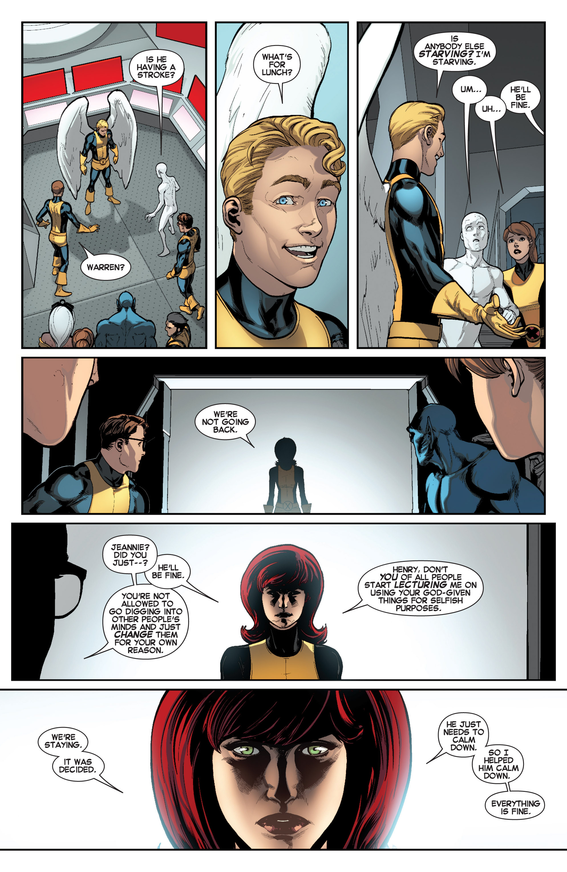 Read online All-New X-Men (2013) comic -  Issue # _Special - Here To Stay - 62