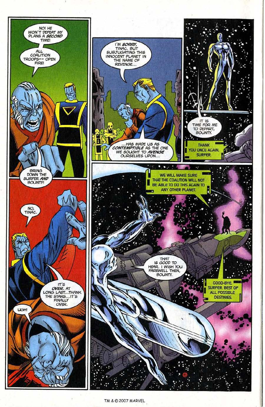 Read online Silver Surfer (1987) comic -  Issue #124 - 32