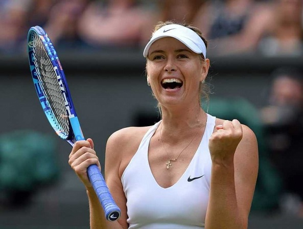 Maria-Sharapova-In-Wimbledon-2017